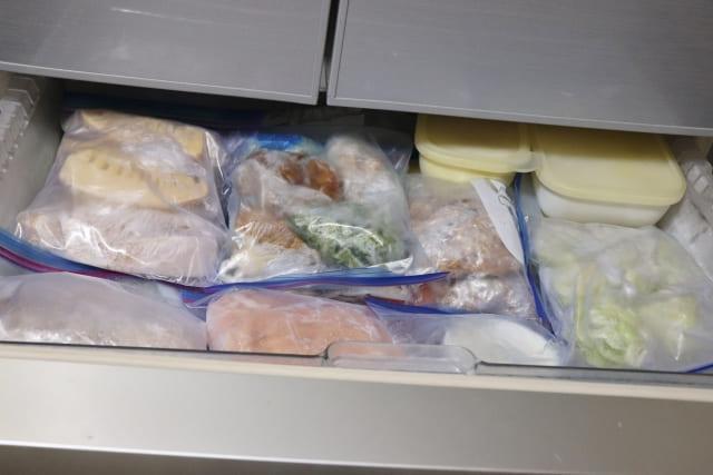 冷凍保存食