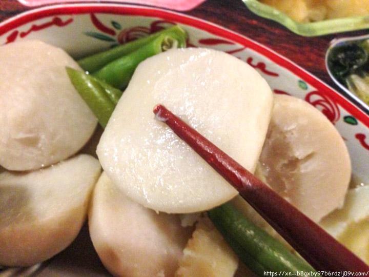 はなまる御前 イカと里芋の煮物