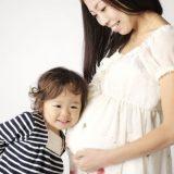妊婦さんと子供