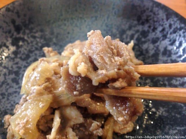食宅便 豚肉の生姜煮と鯖(サバ)胡麻だれ弁当